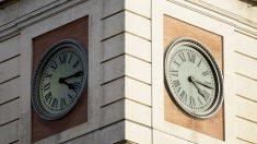 Reloj de la Puerta del Sol. (Foto: Getty)