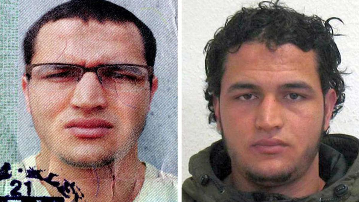 Anis Amri, presunto autor del atentado de Berlín.