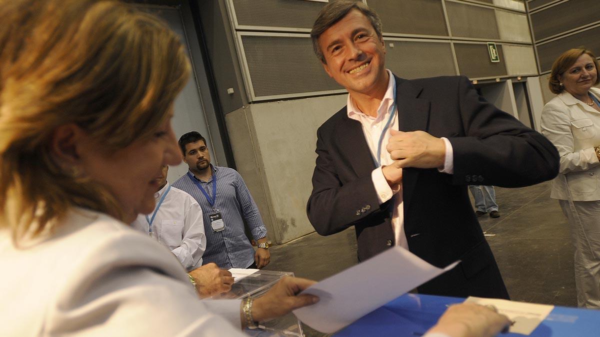 Ángel Acebes. (Foto: AFP)