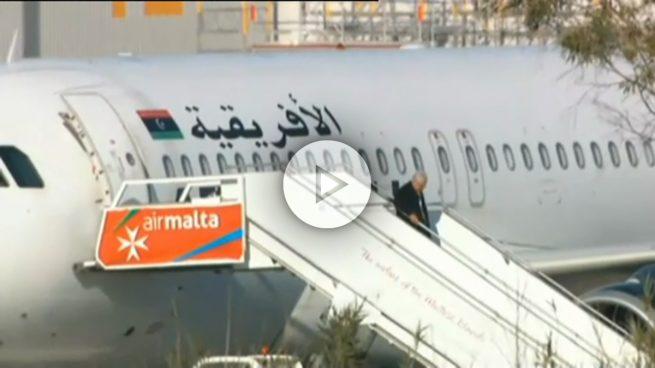 Liberados todos los pasajeros del avión libio secuestrado y desviado a Malta