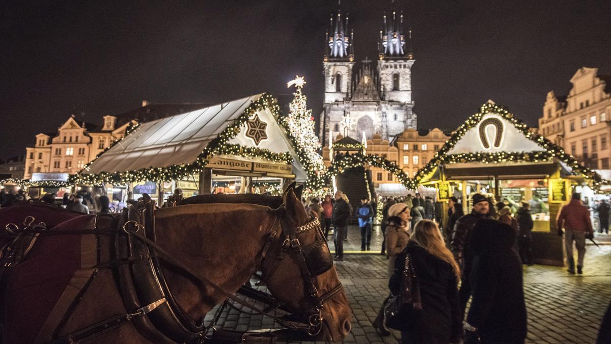 Plaza de la Ciudad Vieja de Praga. (Foto: AFP)