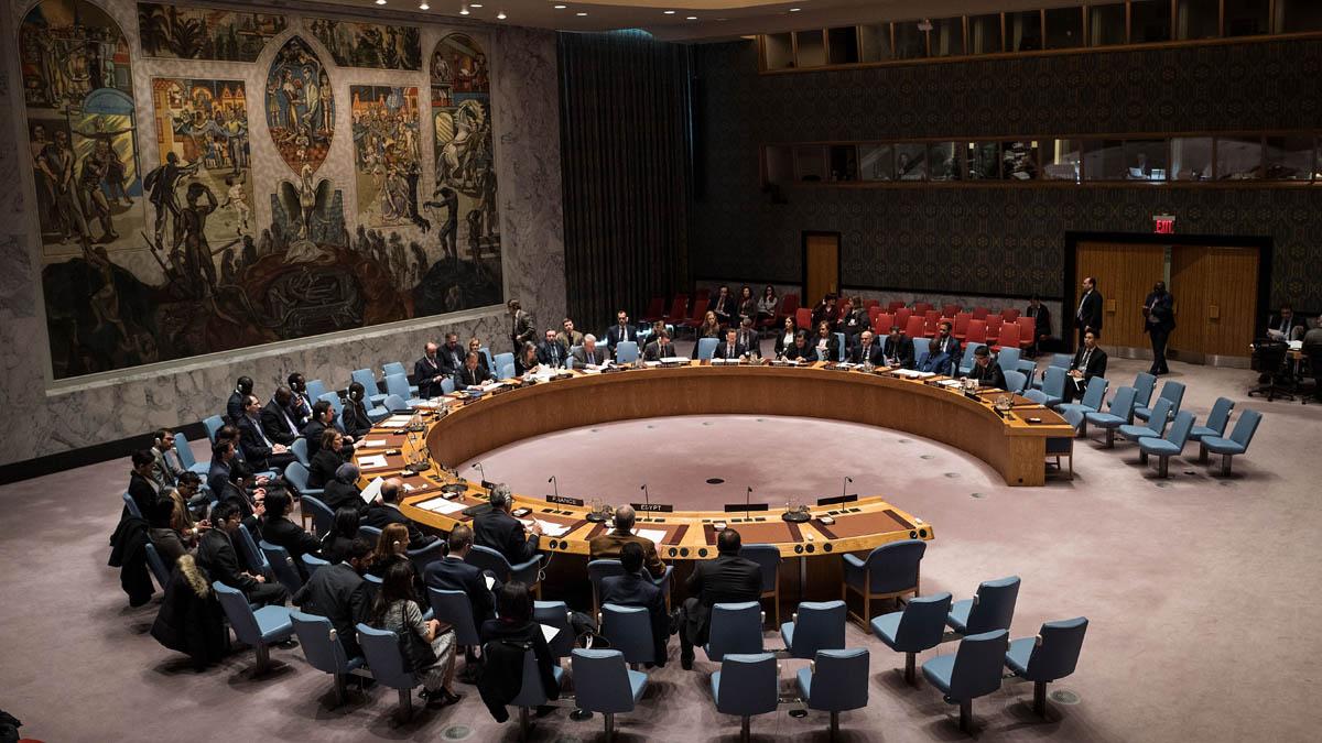 Consejo de Seguridad de Naciones Unidas (Foto: AFP)