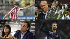 Yeray, Zidane, Prandelli y Jesé