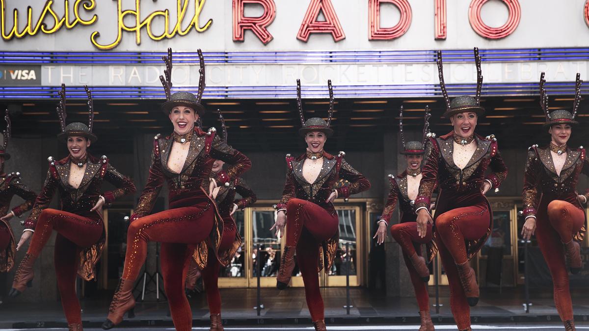 The Rockettes. (Foto: AFP)
