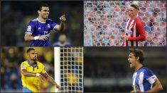 Pepe, Fernando Torres, Boateng y Xabi Prieto