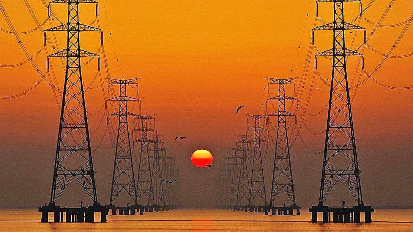 El consumo de electricidad de las grandes empresas cae.