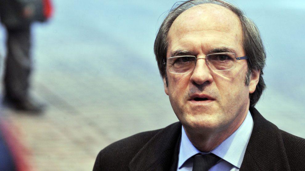 Ángel Gabilondo, portavoz del PSOE en la Asamblea de Madrid. (Foto: AFP)