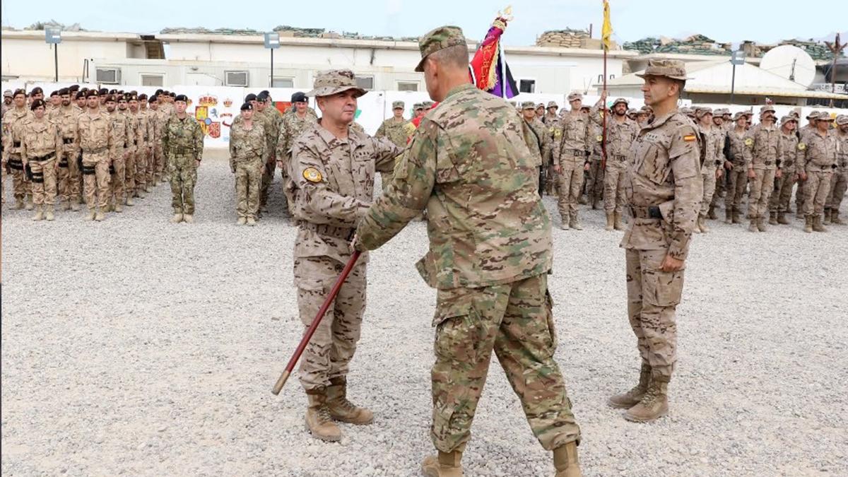 Tropas españolas en Irak. (Foto: Ministerio de Defensa)