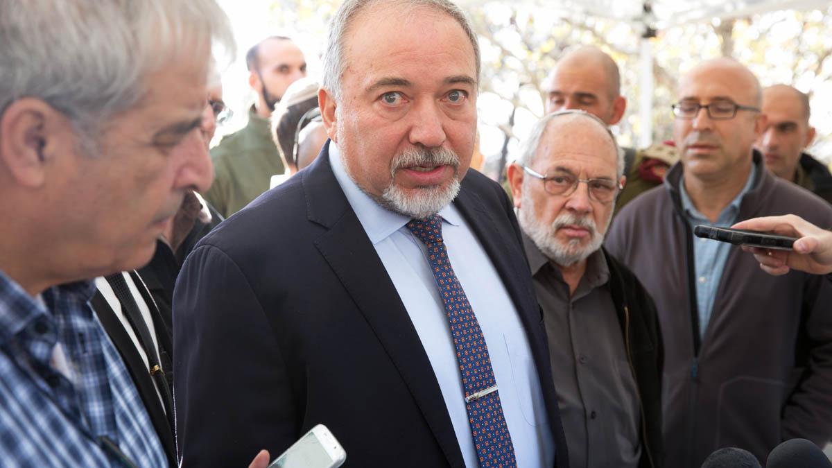 El ex ministro de Defensa de Israel, Avigdor Lieberman (Foto: AFP)
