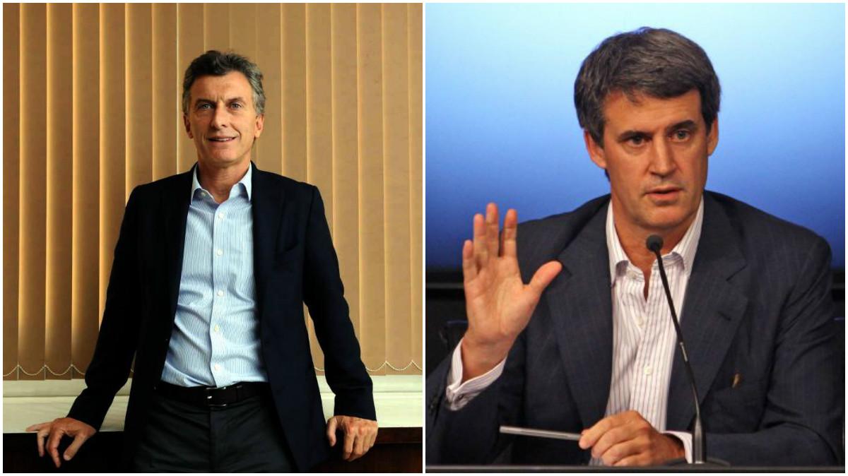 Mauricio Macri y Alfonso Prat-Gay.