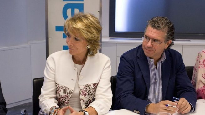 caso púnica: Esperanza Aguirre y Francisco Granados.