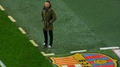 Luis Enrique, durante el FC Barcelona – Hércules