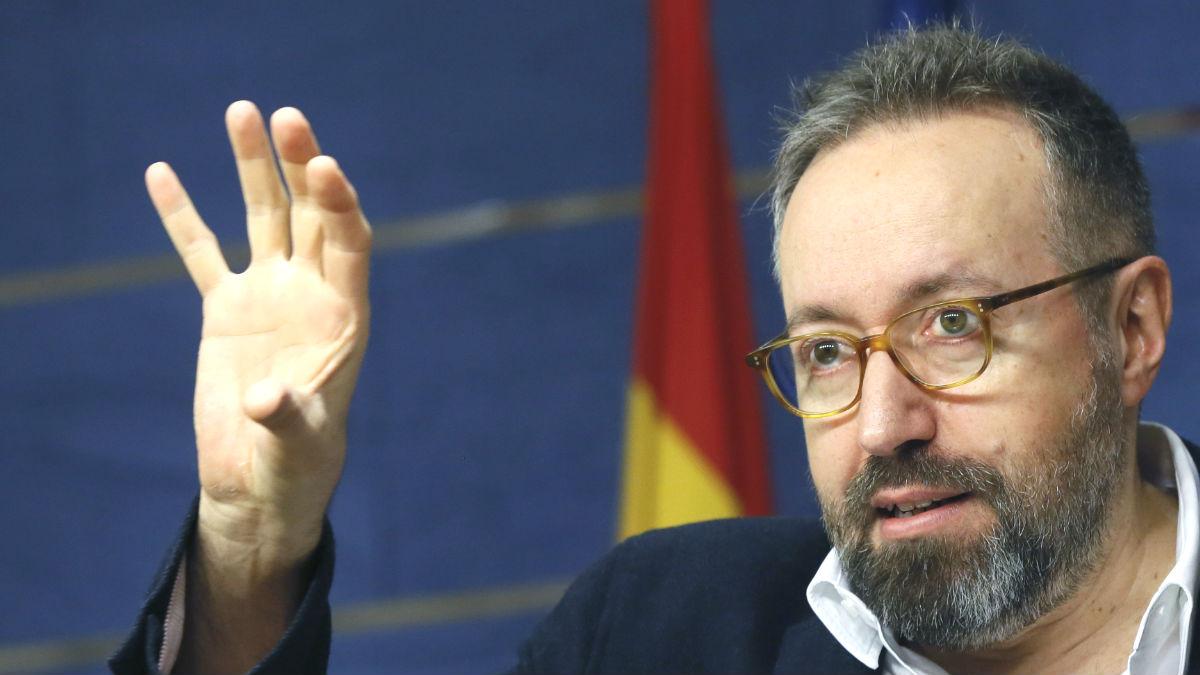 El portavoz parlamentario de Ciudadanos, Juan Carlos Girauta (Foto: Efe)