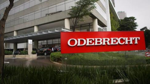 Entrada en la sede de Odebrecht.