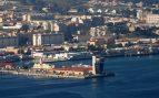 Puerto de la ciudad de Ceuta.