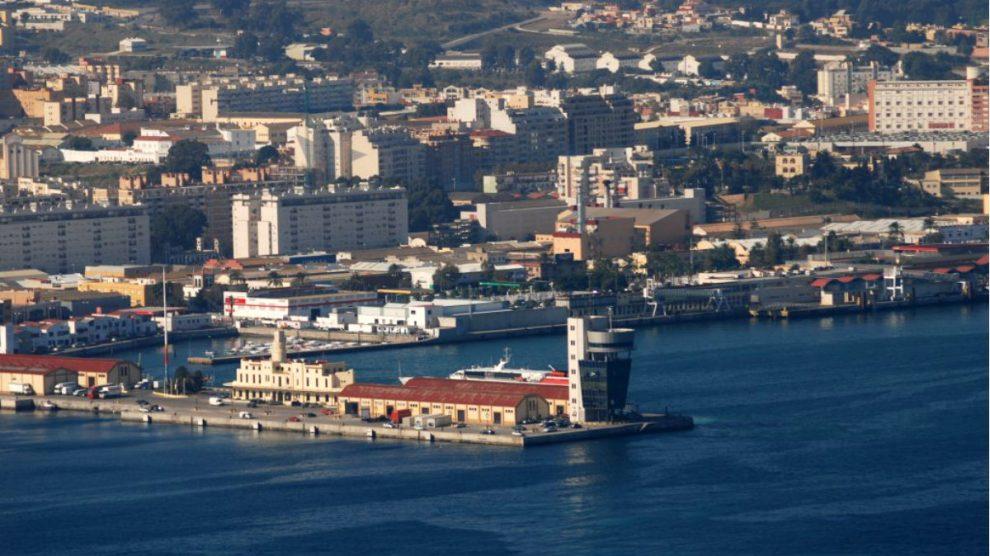 Puerto de la ciudad autónoma de Ceuta.