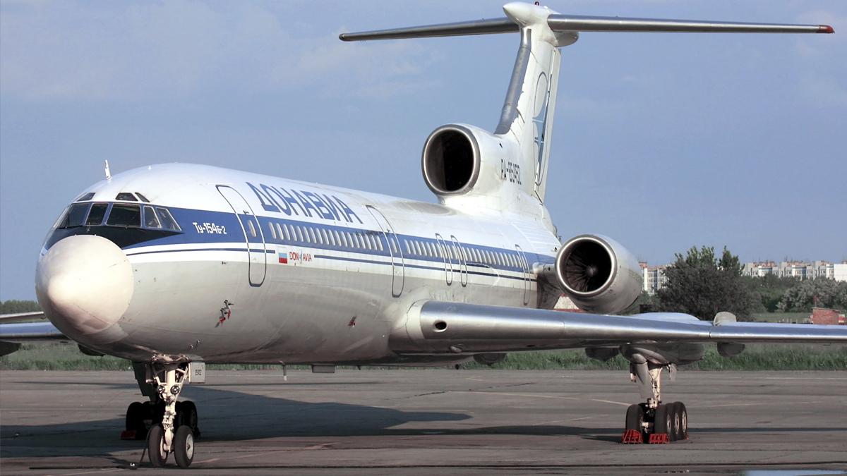 Tupolev 154. (Foto: AFP)