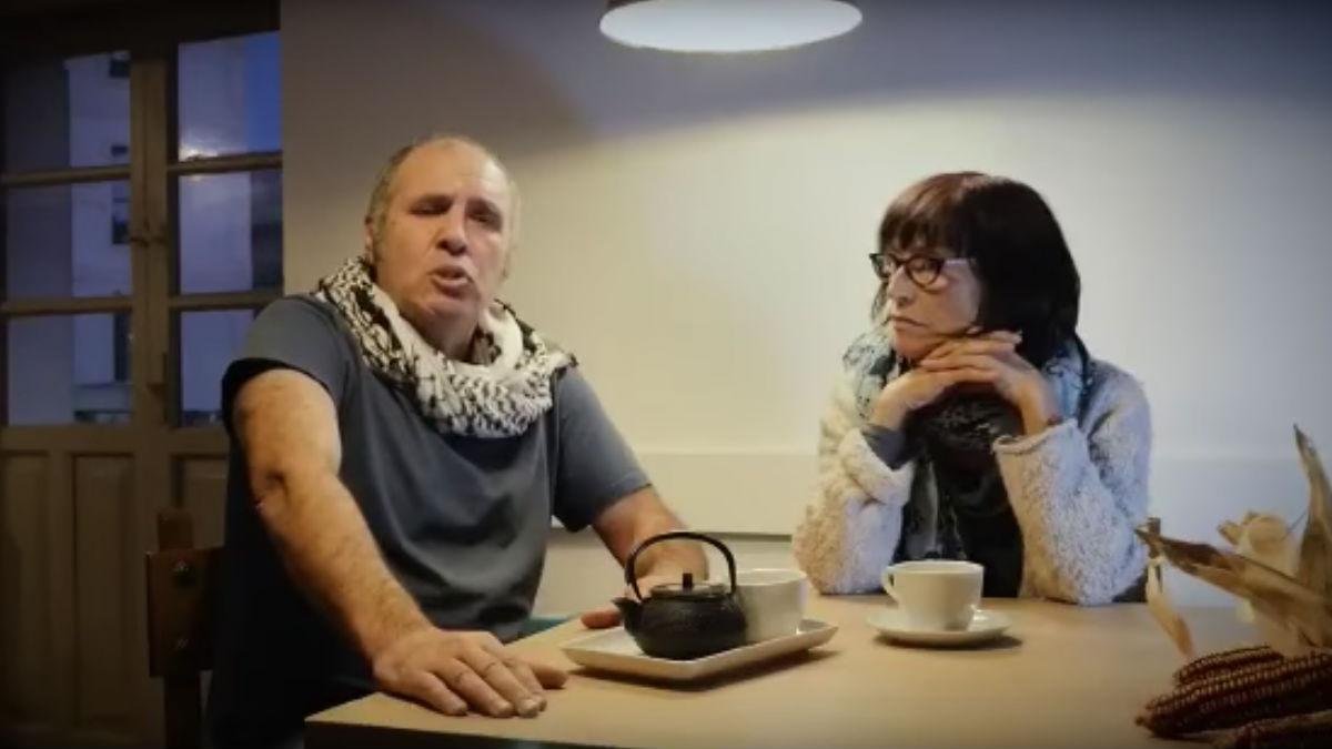 Mikel Zuloaga y Begoña Huarte, los cooperantes detenidos en Grecia (Foto: Youtube)