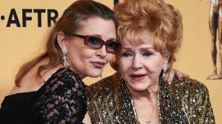 Carrie Fisher y Debbie Reynolds (Foto: Getty)