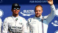De acabar fichando por Mercedes, Valtteri Bottas quiere pelearle la supremacía del equipo y de la Fórmula 1 a Lewis Hamilton. (Getty)