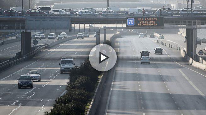 Carmena activa por primera vez la restricción de tráfico por alta contaminación en el centro de Madrid