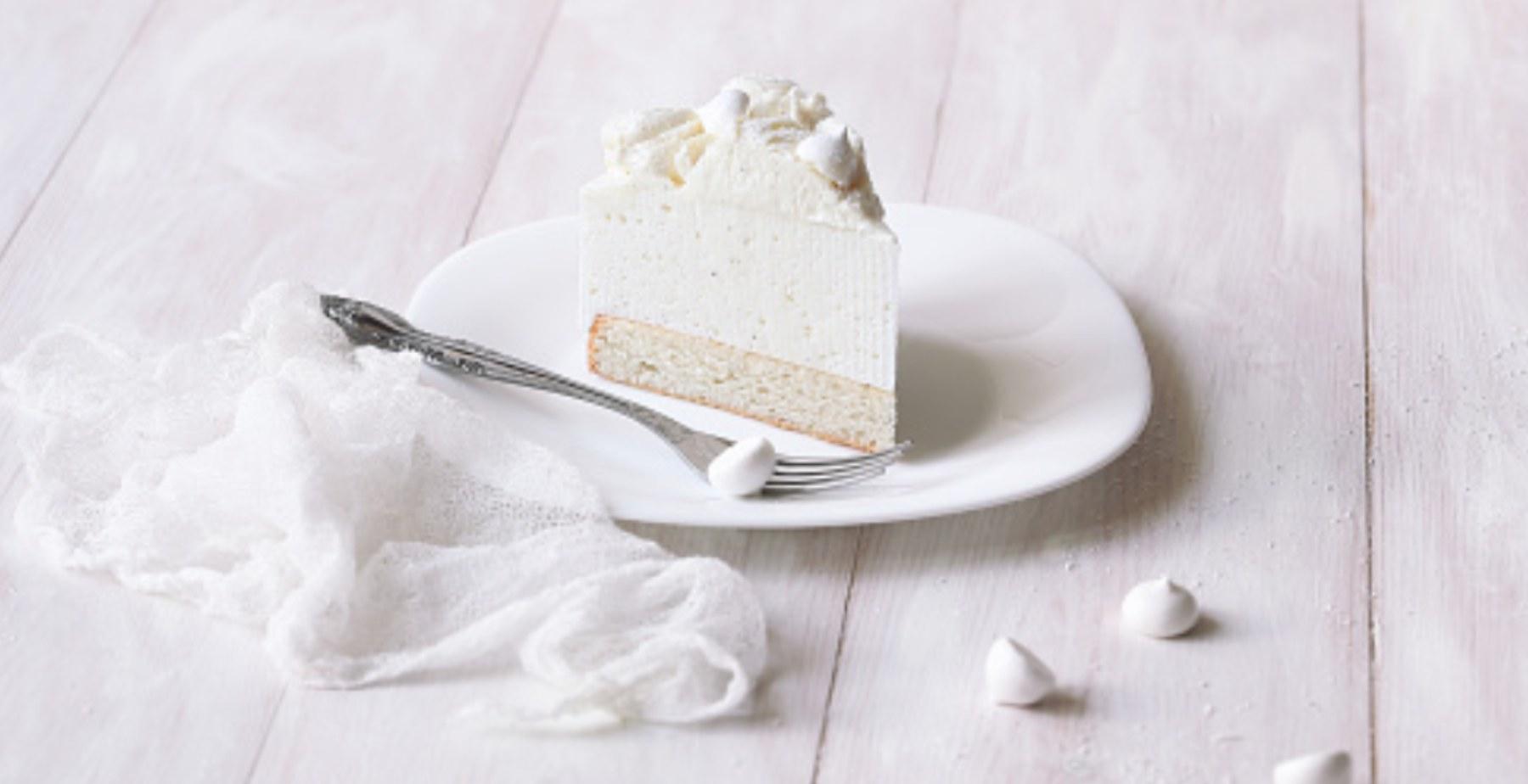 White cake o bizcocho blanco: receta fácil