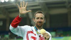 Wiggins, con la medalla de oro ganada en Río. (Getty)