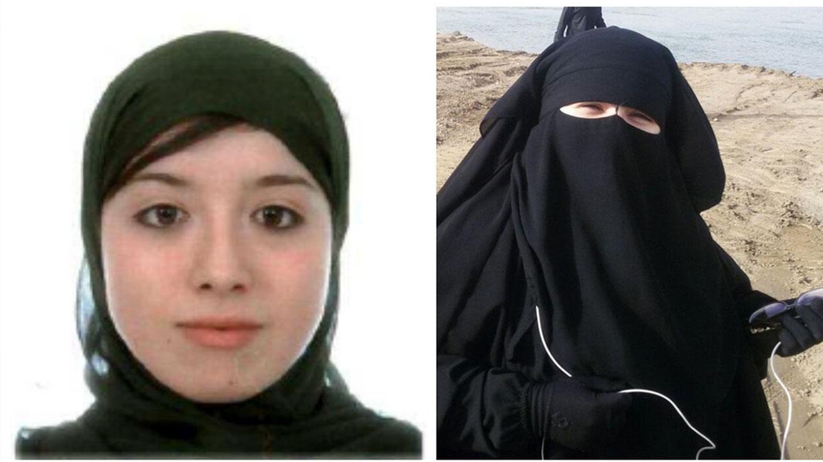 Las yihadistas españolas detenidas en Turquía. (EFE)