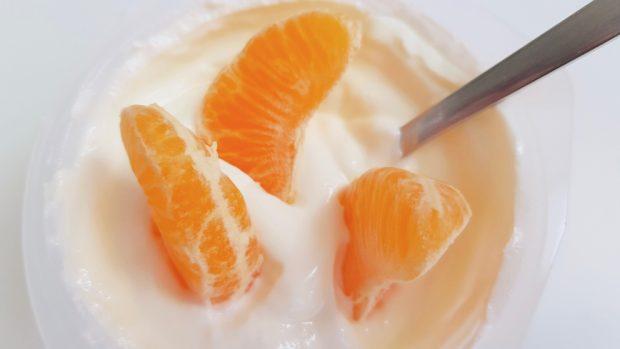Batido de crema de naranja