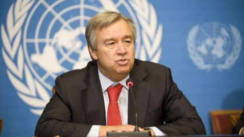 Antonio Guterres, secretario general de la ONU (Foto: AFP)