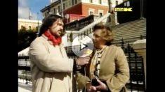 El senador de Podemos Ramón Espinar, trabajando como reportero de La Tuerka en 2010.