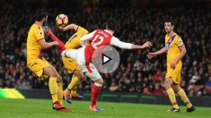 Giroud anotó un golazo con el Arsenal. (Getty)