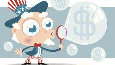 Burbuja financiera. (Fuente: iStock Images)
