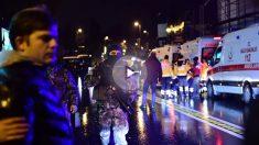 Fuerte presencia policial por el atentado en Estambul (Foto: AFP)