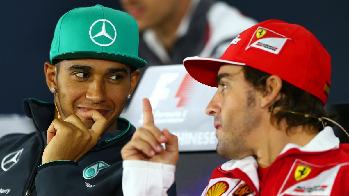 El duelo soñado por todos, Alonso contra Hamilton en Mercedes, no va a producirse por desgracia. (Getty)