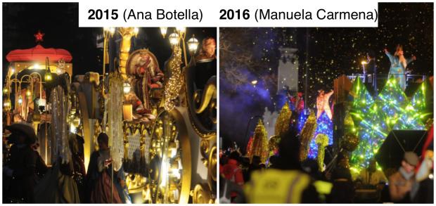 Carmena mete al Oso y el Madroño en la Cabalgata de Reyes 2017