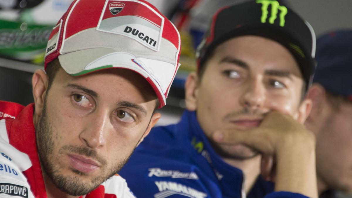 Andrea Dovizioso promete darle guerra a Jorge Lorenzo en Ducati. (Getty)