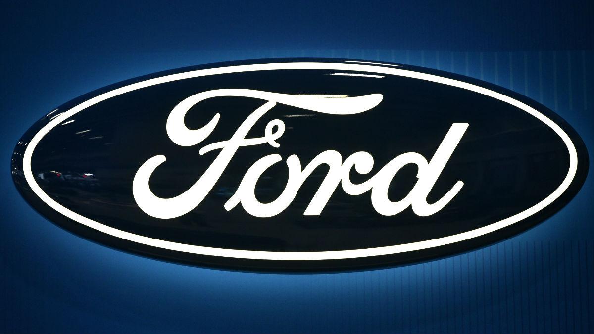 Logotipo de la fábrica de automóviles Ford (Foto: AFP).