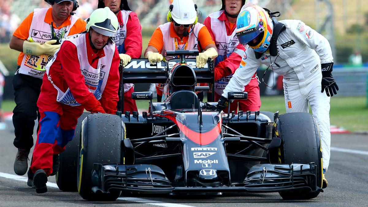 Desde Honda aseguran que su propulsor volverá a ser el más lento de la parrilla. (Getty)