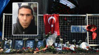 La foto difundida por las autoridades turcas del sospechoso principal de ser el autor del atentado de Estambul. Foto: AFP