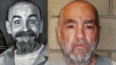 Charles Manson en el momento de su detención y en sus últimos años.