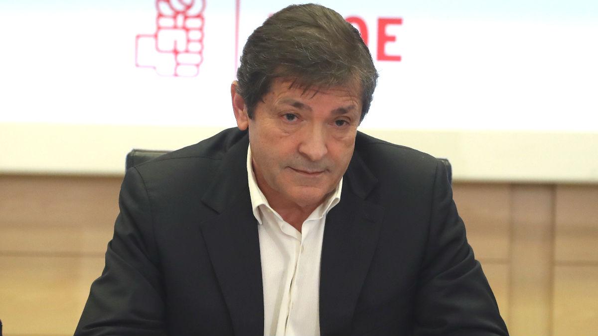 Javier Fernández, presidente del Principado de Asturias. (Foto: Efe)