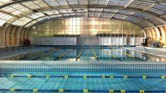 La piscina cubierta del Club Moscardó, que va a permanecer cerrada durante todo el verano.
