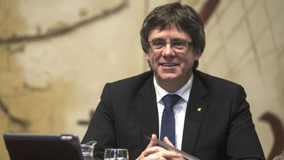 El presidente de la Generalitat, Carles Puigdemont (Foto: Efe)
