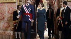El rey felipe VI y la Reina Letizia. Foto: EFE