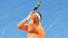 Rafa Nadal se despidió de Brisbane tras caer con Raonic en cuartos. (Getty)