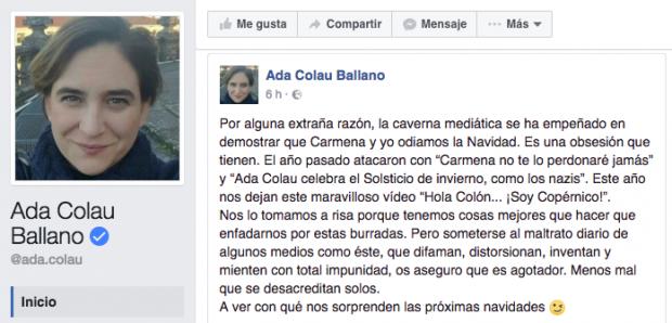 Ada-colau-facebook