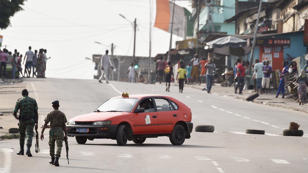 Sublevación militar en Costa de Marfil (Foto: AFP)