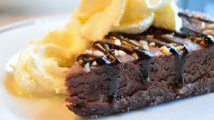 Receta de Pastel de chocolate sueco o kladdkaka
