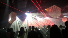 La fiesta de Año Nuevo celebrada el pasado día 1 en la discoteca de Miguel Ángel Flores. (Foto: OKDIARIO)